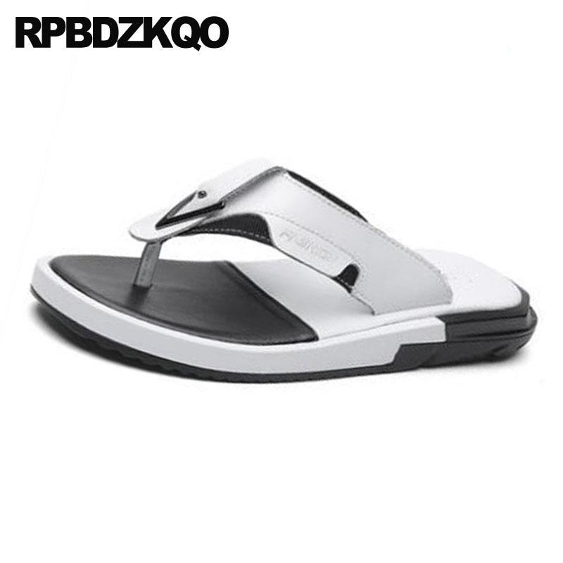A Moda De Hombres Zapatillas Agua Verano Flop Prueba Blancas Flip Aire Sandalias Diapositivas 2018 Al Diseñador Para Libre Playa Hombre QrxsdthC