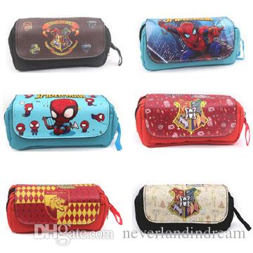 2018 High Quality Harry Potter Anime Double Zipper Pen Holder Bag Stationery  Pencil Case Bag For School Supply Of Cosplay Gift From Neverlandindream, ...