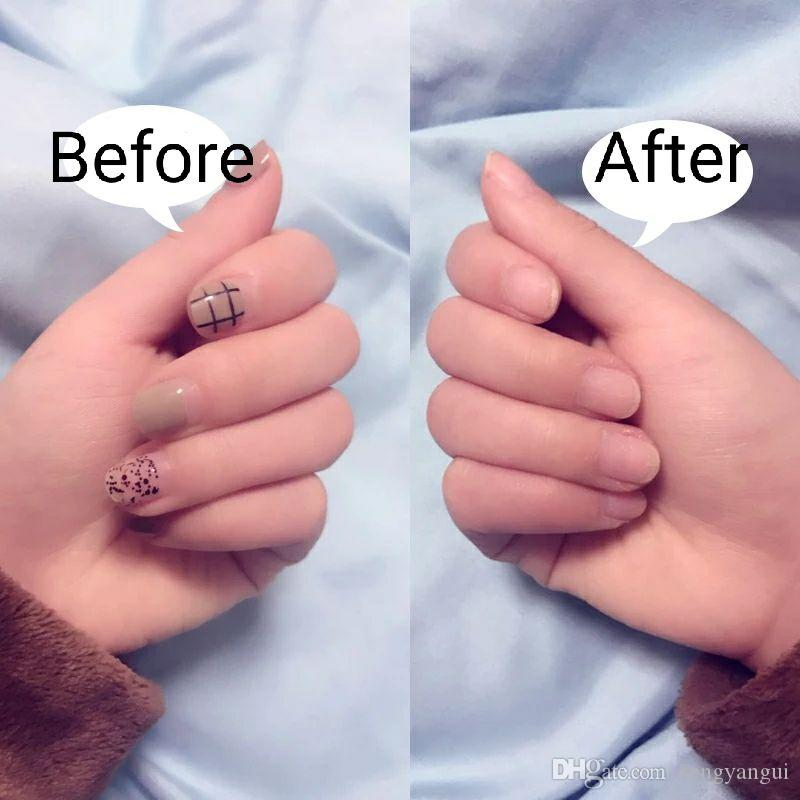 Aluminium Foil Nail Art Soak Off Acrylic Gel Polish Nail Removal ...