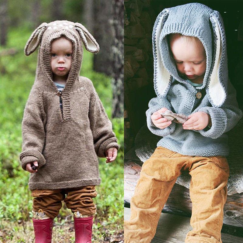 2018 Warm Cute Newborn Infant Baby Girl Knitted Boy Sweaters Winter