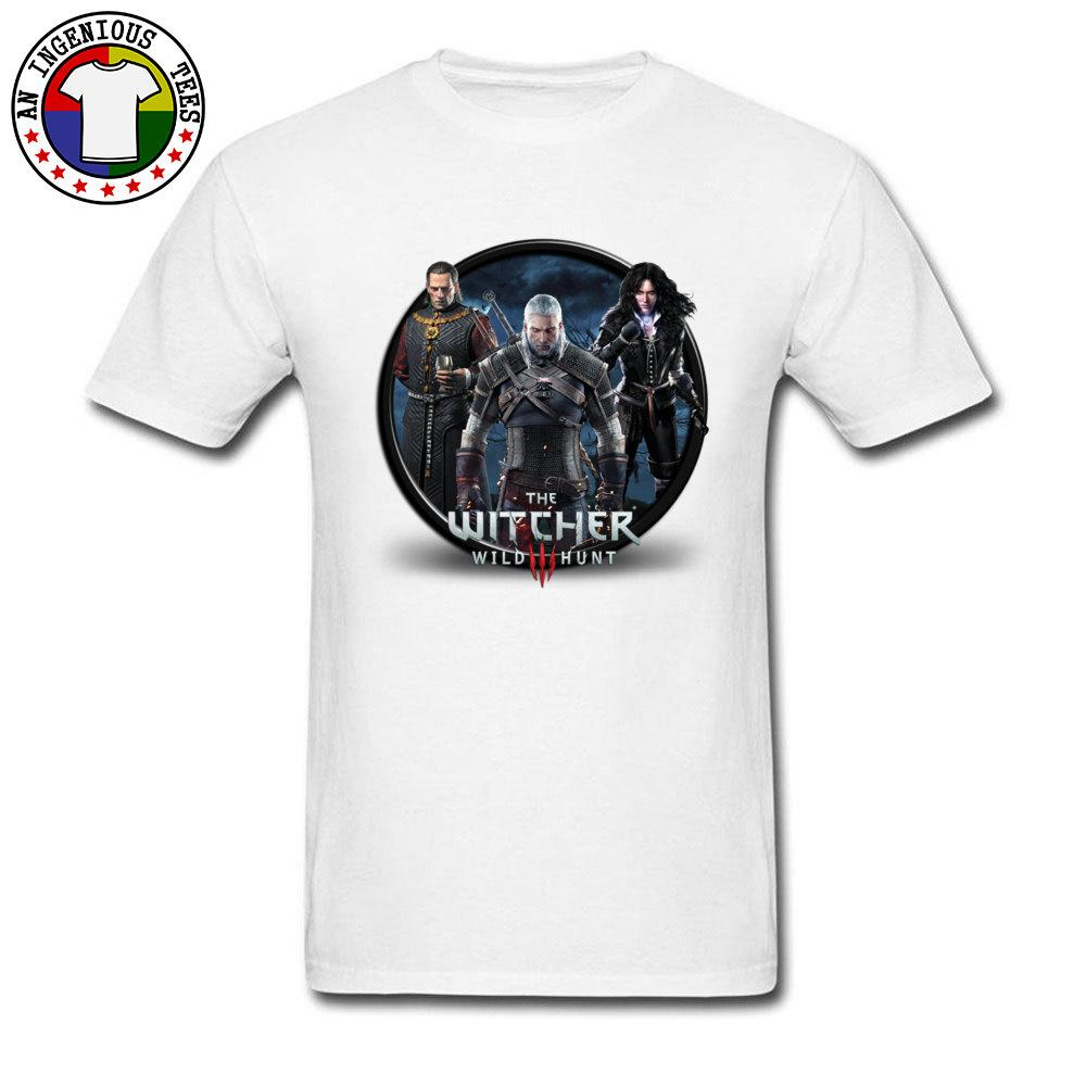 92ecebd3b Witcher Gaming T Shirts NEW YEAR DAY Gift Sweatshirts Geek Male Style New  Arrival Fashion'S Aweosme Custom T Shirt For Men Business Shirt Retro Tees  From ...