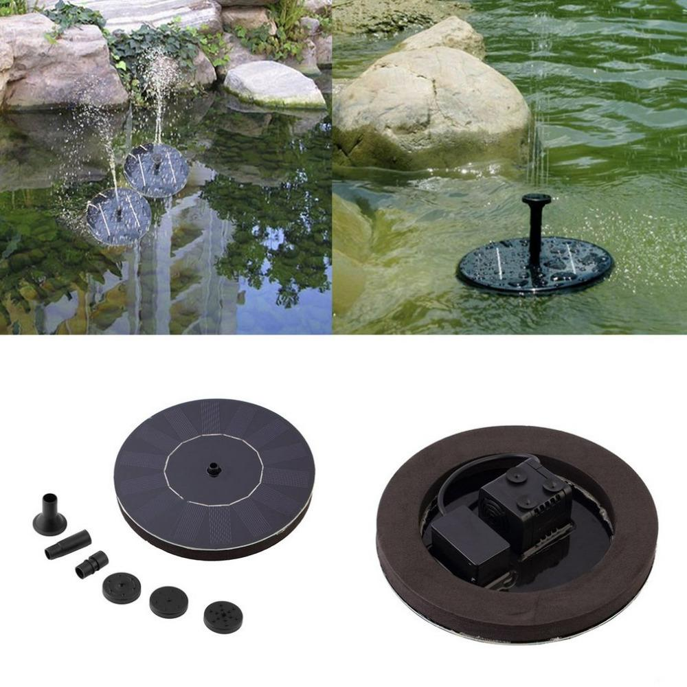 Solar Powered Pond Fountain 7V Floating Water