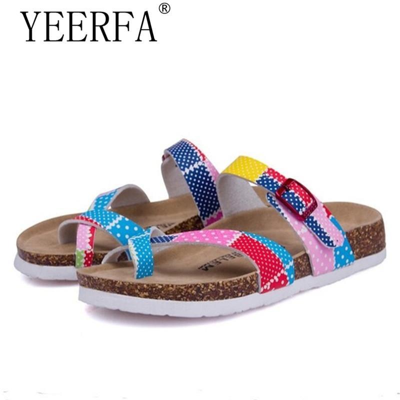 Liefern Neue Flache Sandalen Frauen Böhmen Strand Sommer Schuhe Frauen Sandalen Scarpe Donna Zapatos Mujer Alias Frauen Sandalen