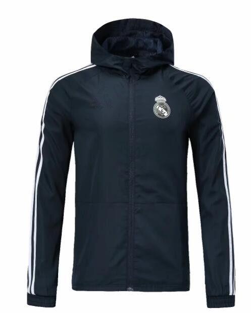 81b2b3bd37 Compre 2018 19 Capuz Jaqueta Real Madrid Liga Dos Campeões Survetement 2018 19  Casacos De Futebol Totti Futebol HOODIe De Messisporto1