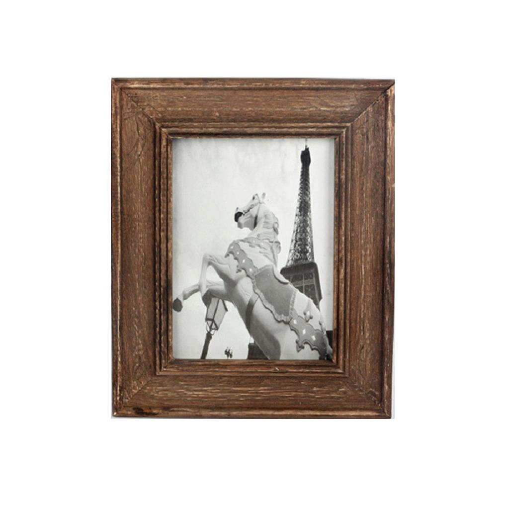 Hot New Western Style Wooden Photo Frame Studio 6/7 Inch Photo Frame ...