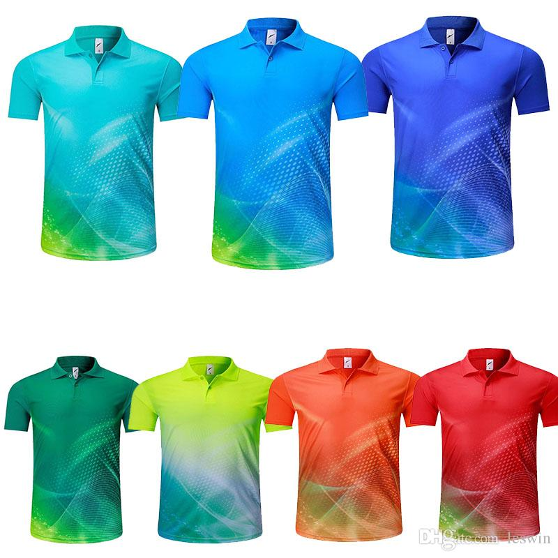 eeb15555 2018 Pure Color Can Custom Name Number Logos Men Sport T Shirts Different  Colors For Choose Polyester Quality Size S, M, L , XL Clothings T Shirt For  A Tee ...