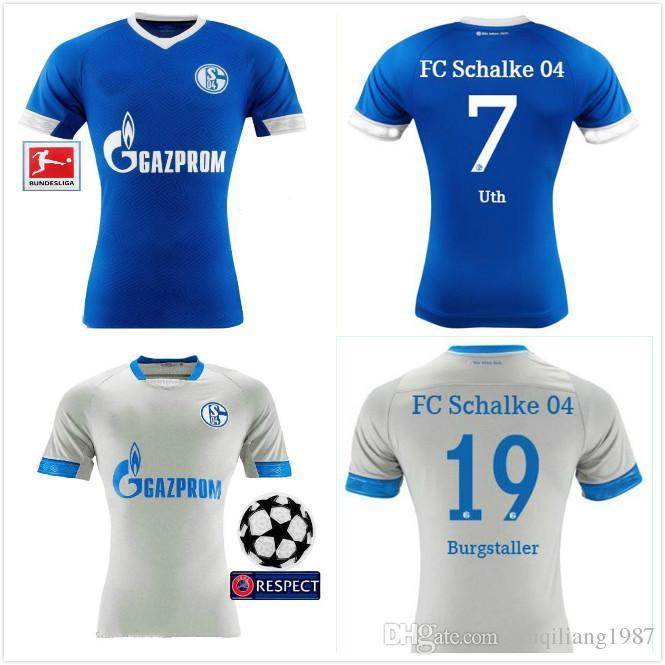 fceb8c6538 Maillot FC Schalke 04 nouveau