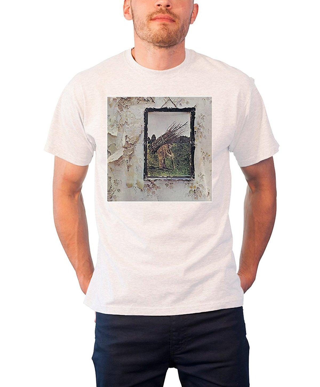 6032f34d2 Led Zeppelin T Shirt White | Top Mode Depot