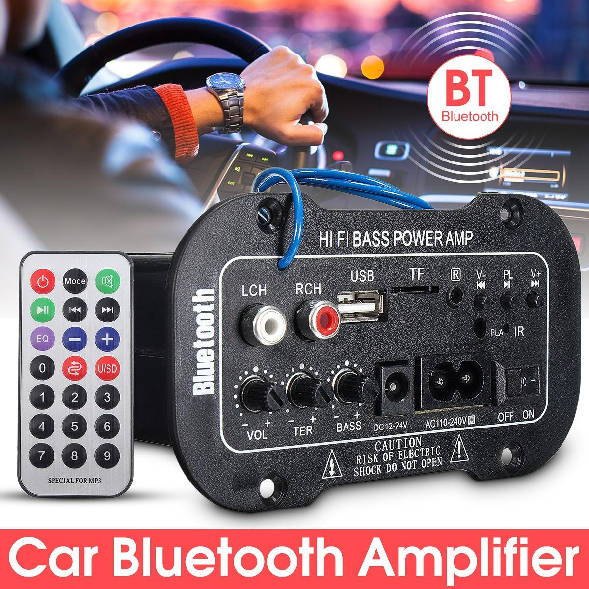 Wholesale Black Bluetooth Vintage Car Radio Mp3 From China: DHL Universal Bluetooth Car Stereo Audio Digital Amplifier