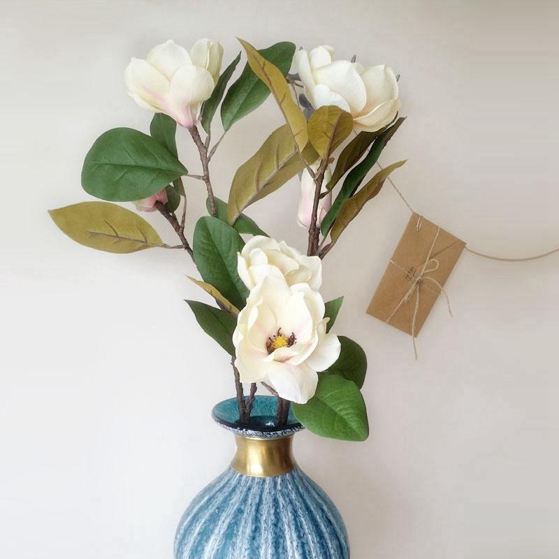 2019 Simulation Flower Magnolia Artificial Flowers For Decoration