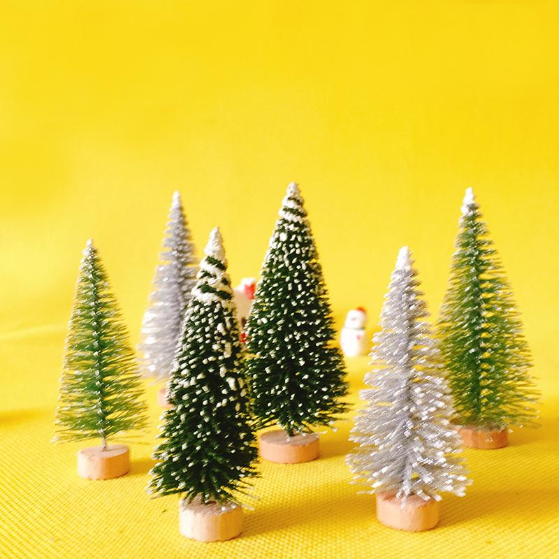 2019 New Arrivals 6 Big Plus 6 Small Little Christmas Trees
