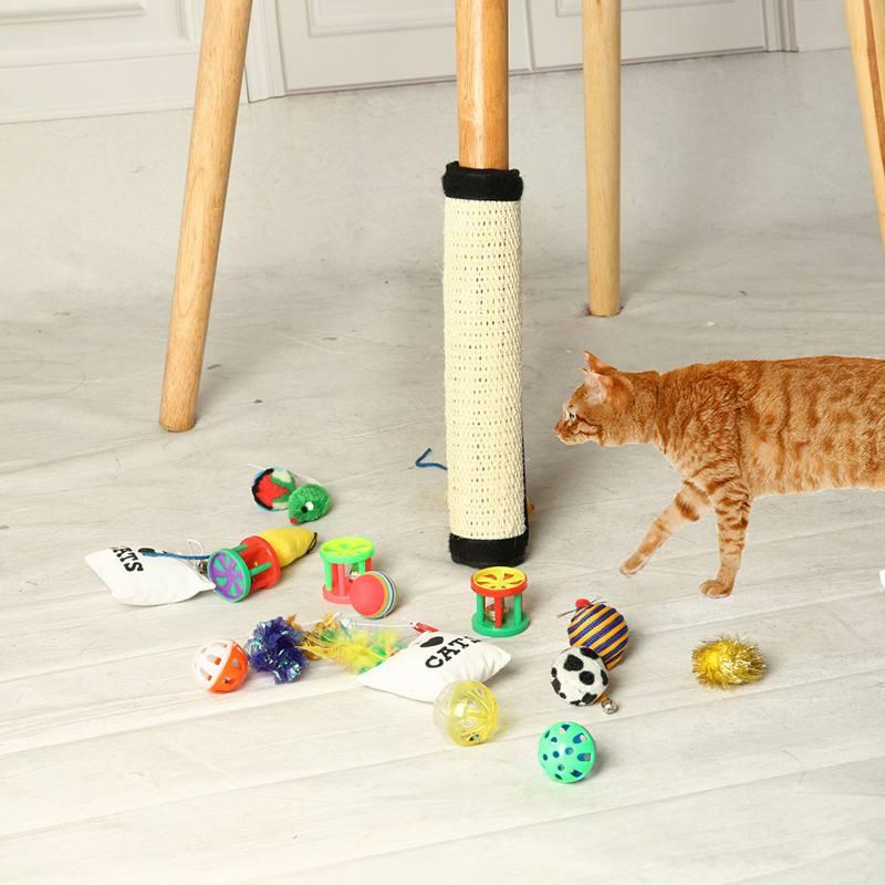 Table Corner Sofa Blanket Cat Scratch Pad Board Protecting Furniture