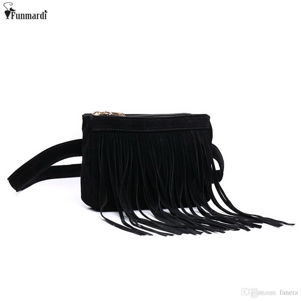01a743275d8b FUNMARDI New Arrival Women Waist Packs Fashion Simple Design Bags ...