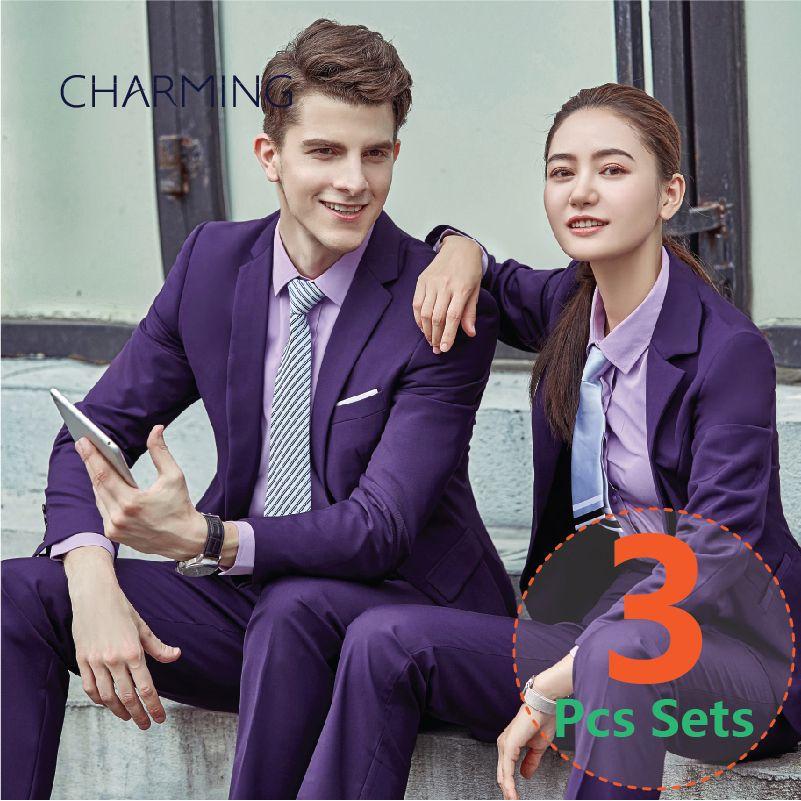 8821556b50 Mens Purple Suit Business Attire Blazer Suit For Mens Suitable For Business  Suits For Men Mens Wedding Suits Suits Mens Fashion Mens Suits From  Changminhu