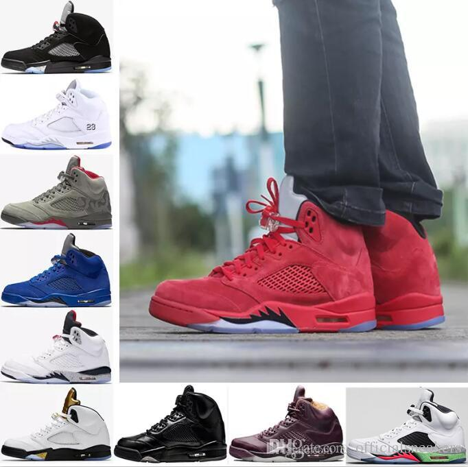 with mastercard cheap online 2018 Cheap 5 mens Red blue Suede Premium Bordeaux Camo Black Olympic OG metallic Gold Black Metallic Fire Red Sport Sneakers outlet locations sale online choice cheap price great deals sale 100% guaranteed Zb9YbZk