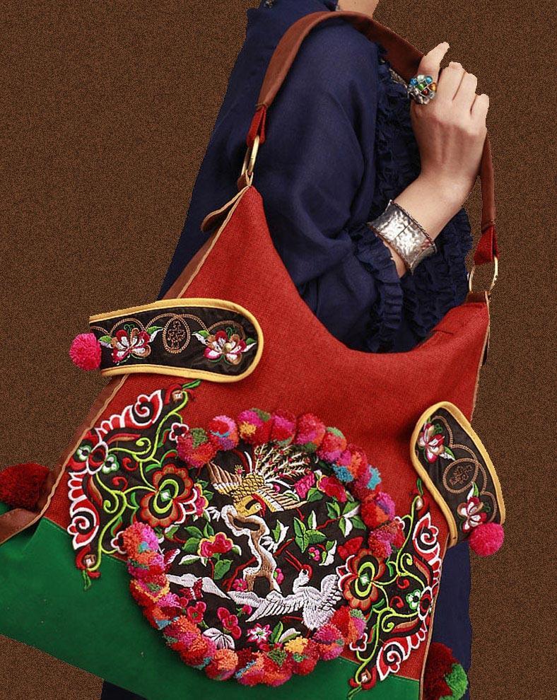 100 Handmade Handbag Purse Hobo Weekend Bag Fine Oriental
