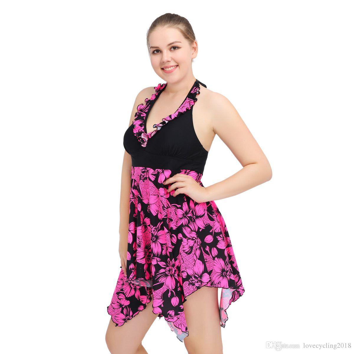 6c7fd16b364 Satın Al Yeni Yaz Plaj Kıyafeti Purole Çiçekler Moda Mayo Yüksek Kalite  Kadınlar Su Sporları Mayo Şeritler Göğüs Iki Parça Ile Suits, $25.33 |  DHgate.Com'da