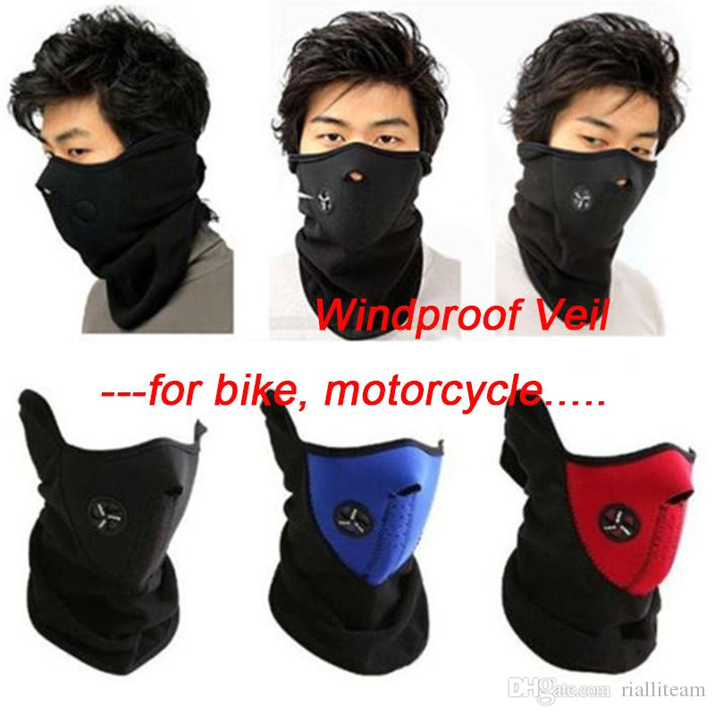 5e2edc4ba0a8 Unisex Dustproof   Windproof Warm Neck Half Face Mask Wear for ...