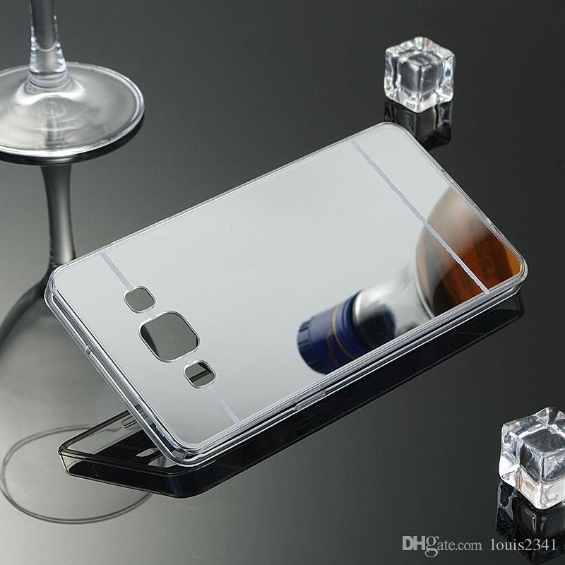 Original Luxury Mirror TPU Cases for Samsung Galaxy S9 S8 S10 Plus S6 S7 Edge Grand Prime Case Slim