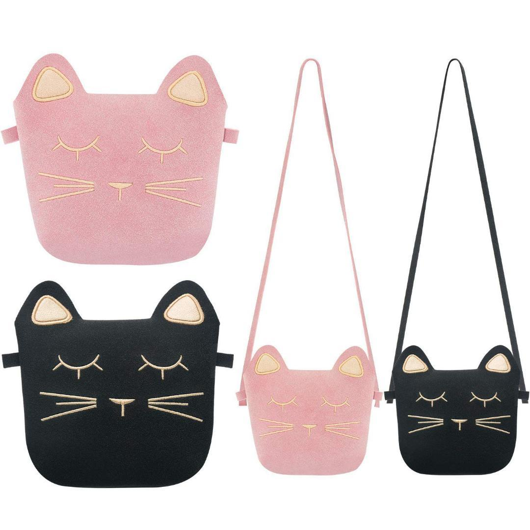 31ffef0b9e39 AUAU-Little Girls Purses Cute Cat Ears Girl Crossbody Shoulder Bag for  Kids