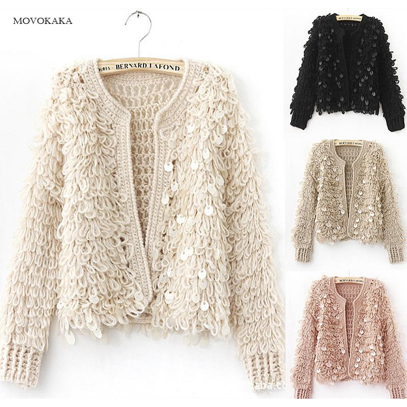 91ba9c468d 2019 Sweaters Mohair New Fashion Women Sweater Knitted Cardigan Female  Korean Cashmere Warm Sweater Women Winter Ladies Jumper Tops From  Ceciliasa