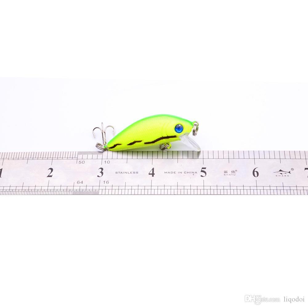 Nadar Iscas De Pesca Artificial Duro Manivela Isca 5 cm-1.97