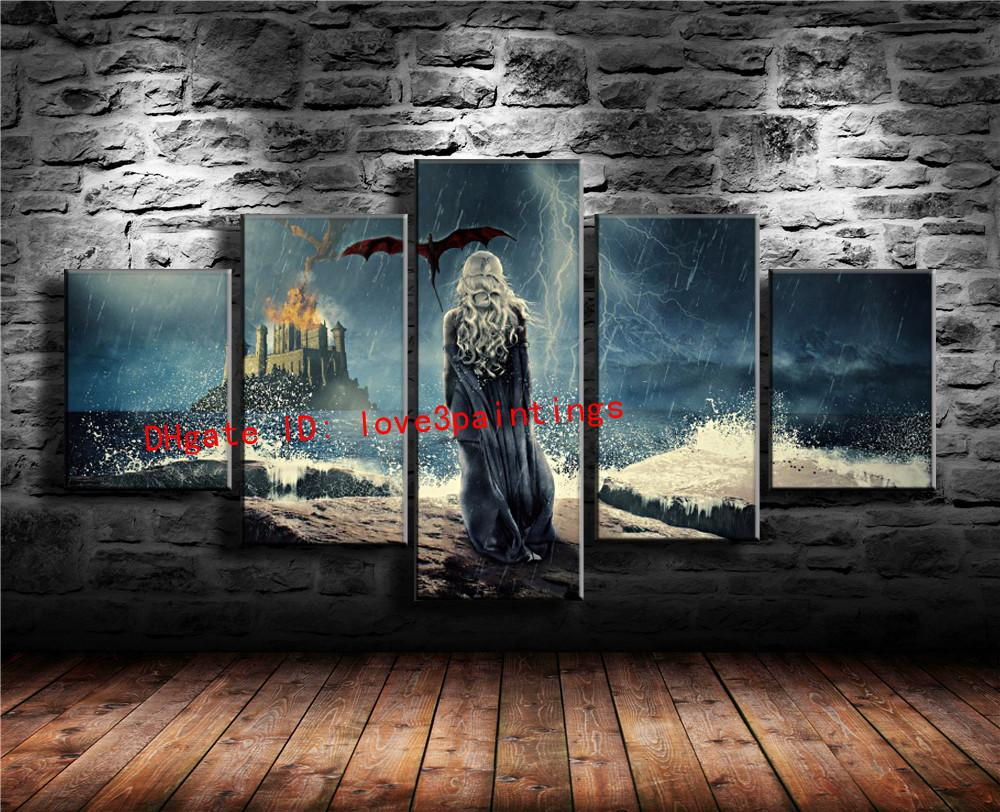 2019 Game Of Thrones Home Decor Hd Printed Modern Art Painting On