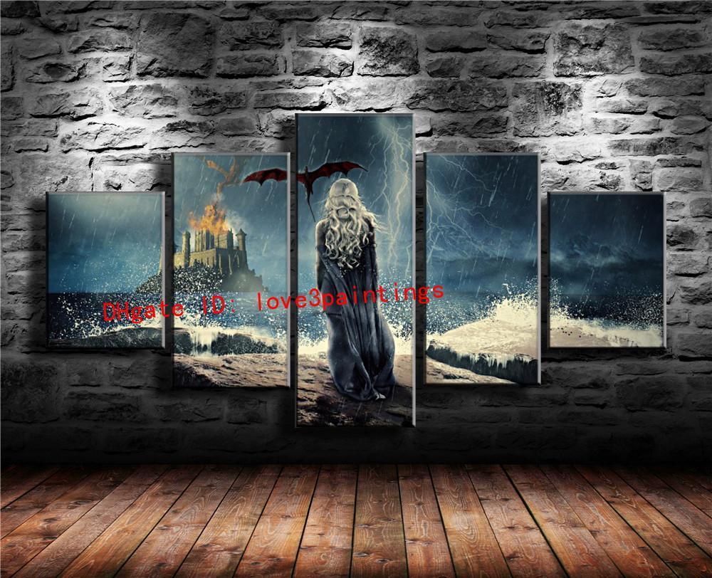 2019 Game Of Throneshome Decor Hd Printed Modern Art Painting On