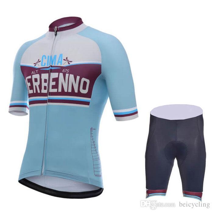 2018 Cycling Jersey Maillot Ciclismo Short Sleeve and Cycling bib Shorts Cycling Kits Strap cycle jerseys Ciclismo bicicletas B18042002