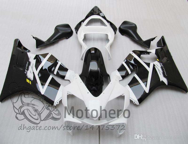 Injection Mold gifts For HONDA CBR600F4i 2001 2002 2003 CBR600 F4i CBR600FS FS 01-03 CBR 600 F4i 01 02 03 600 F4i Fairing Black White J436