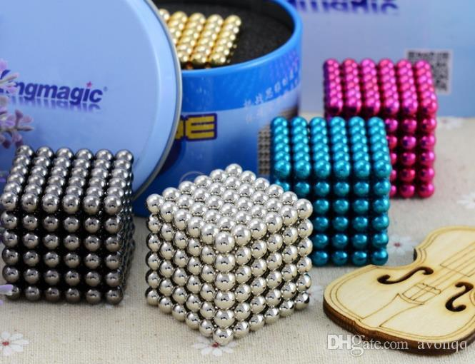 2789aec6bc392f Großhandel 5mm EDC CNC Cube Magnetic Balls Hand Zappeln Spinner Alloy  Wirbelwind Anti Stress Spielzeug Puzzle Magnet Block Cubo Magico ADHS  Dekompression ...