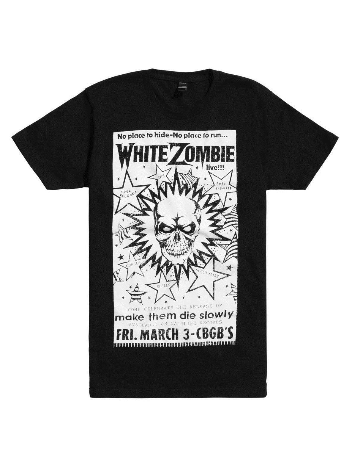 6e9022b48 New Design Cotton Male Tee Shirt Designing White Zombie Flyer T Shirt,  Medium Clever Funny T Shirts Funny Tshirts From Caisemao10, $15.22|  DHgate.Com