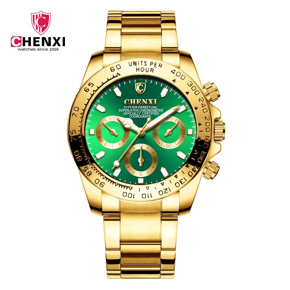 Ip Para Mesa 086a Oro Impermeable Cx Electrochapado De Reloj Hombres Hombre Negocios QdrsxthCB