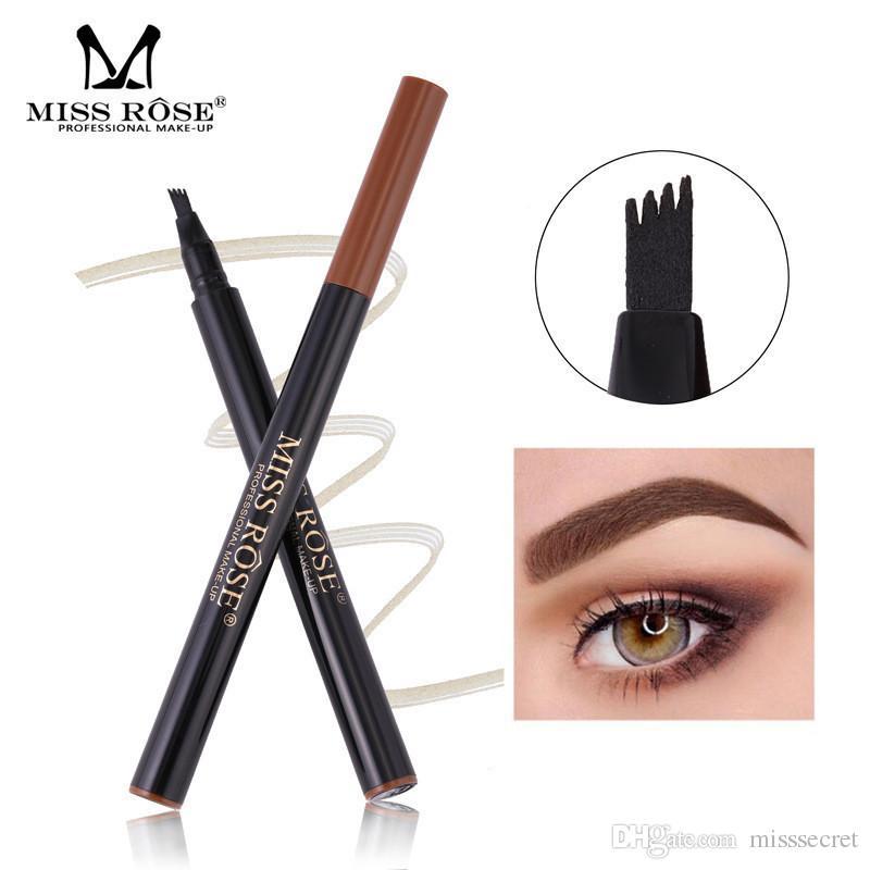 Liquid Eyebrow Pencil Tattoo With 4 4 Heads Fork Eyebrow Pen