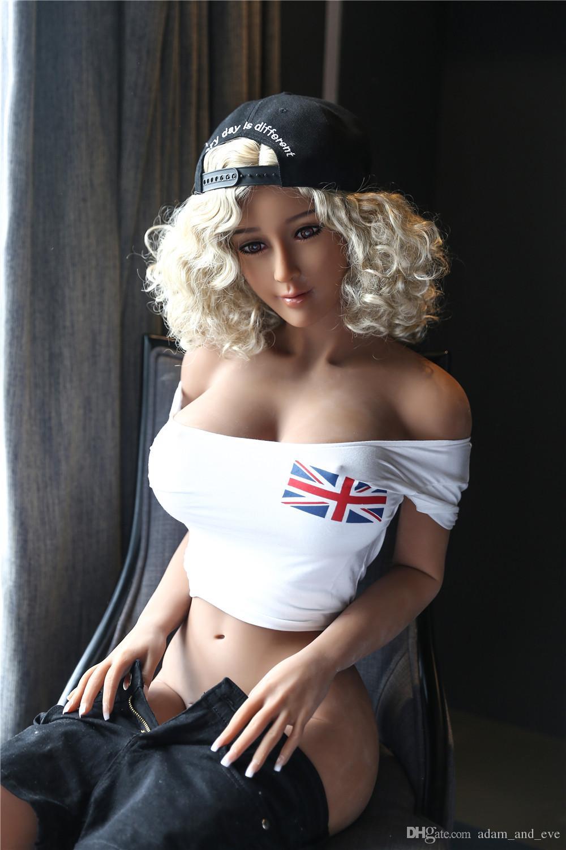 165cm Full Silicone Sex Doll Life Size Love Dolls Realistic Anal Vagina Male Masturbation Sex Toys