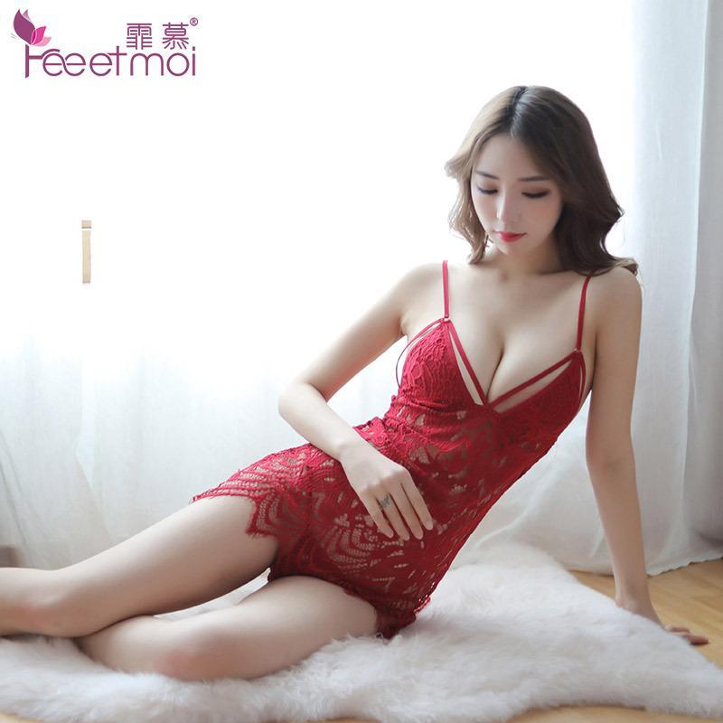 Lace slip sex