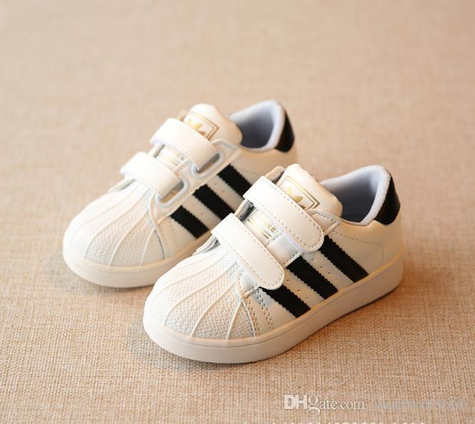 Baby Shoes Best Selling Brand New Autumn Children White Shoes Boy Shellfish  Girls Casual Shoes 21 36 017 Kids Branded Shoes Toddler Name Brand Shoes  From ... eaca65b734ee