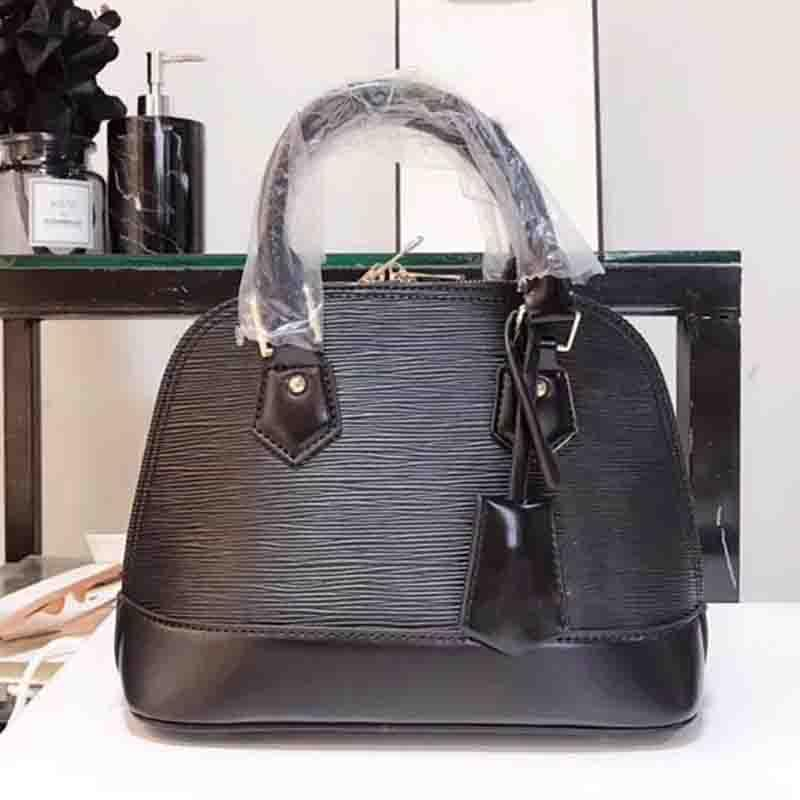 507b9c1296ca ALMA BB Shoulder Bags Shell Bag 2018 Brand Fashion Luxury Designer Handbags  Purses Epi Leather Crossbody Bag Tote Bags Luggage M41327 Italian Leather  ...