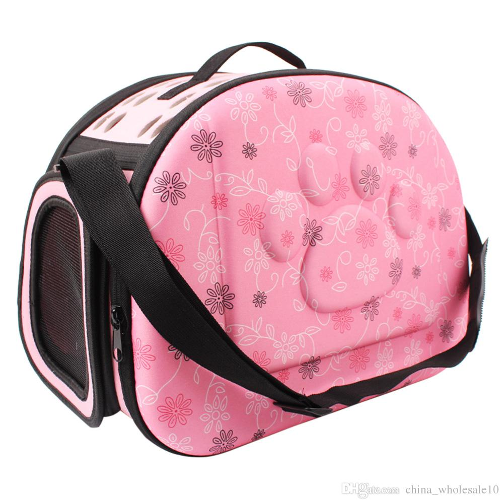 33fd931a02 2019 Pet Dog Carrier Foldable Puppy Cat Carrying Outdoor Travel Bags For  Small Dog Shoulder Bag Soft Pets Dog Kennel Pet Products From  China_wholesale10, ...