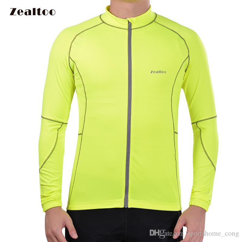 Zealtoo 2018 Green Cycling Jersey Mtb Bicycle Clothing Bike Wear ... 47c214318