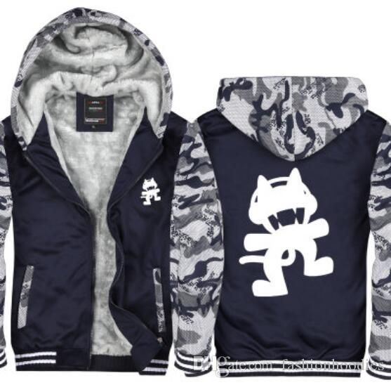 Hoodie Marshmello Manteau Zipper Hiver Acheter Camouflage 2018 Z1n8Swzx