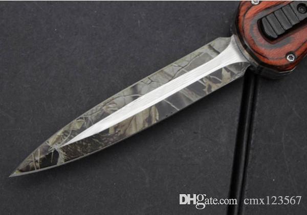 Yeni CJ A021 D2 blade Avcılık Katlanır Pocket Knife Survival Knife Noel hediye erkekler için 1 adet