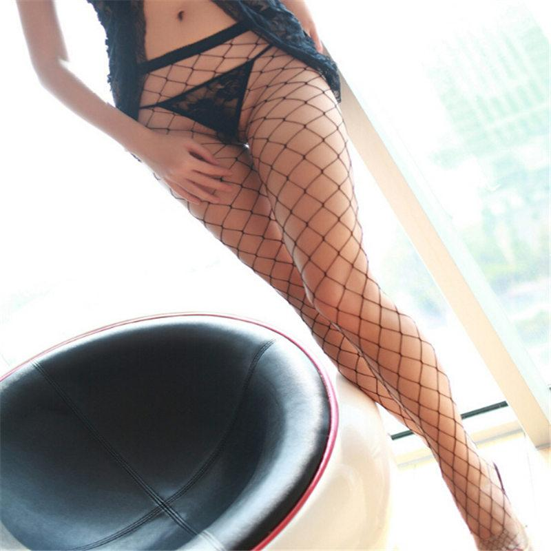 ca60bf91c94 2019 Sexy Women S Stockings 2018 New Brand Casual Female Fishnet Hosiery  Fashion Ladies Thin Black Long Tights For Women From Lvyou09