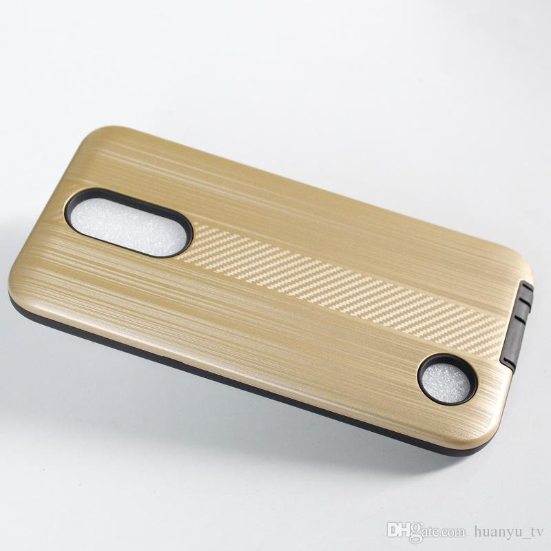 For Samsung Galaxy J3 2017 J7 2017 S9 S9 plus Hybrid TPU+PC Wire Carbon Fiber Captain Case Shock-Proof Cases OPP bag