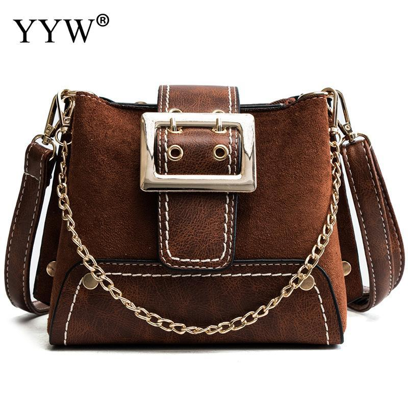 524b34dfee Vintage New Handbags For Women 2018 Female Pu Leather Handbag High Quality  Small Bags Lady Shoulder Bags Casual Brown Sac Femme Leather Backpacks  Shoulder ...