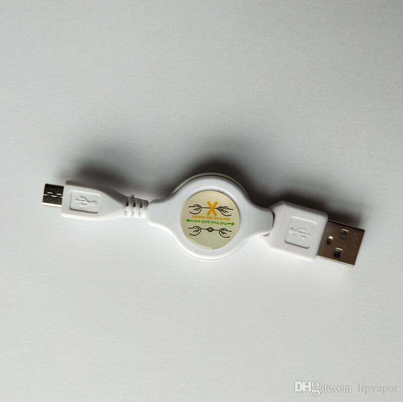 Cargador USB inalámbrico de pluma o cargador de batería electrónica Cigarrillo negro adaptador de carga USB para todo el ego 510 hilo O-Pen Cargador de batería