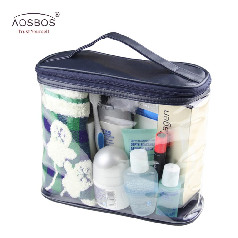 52b197c7af0f Travel Transparent Waterproof Women Toiletry Kit Men PVC Zipper Cosmetic Bag  Large Capacity Makeup Storage Pouch For Lady Male Cosmetic Pouch Cosmetic  Shop ...