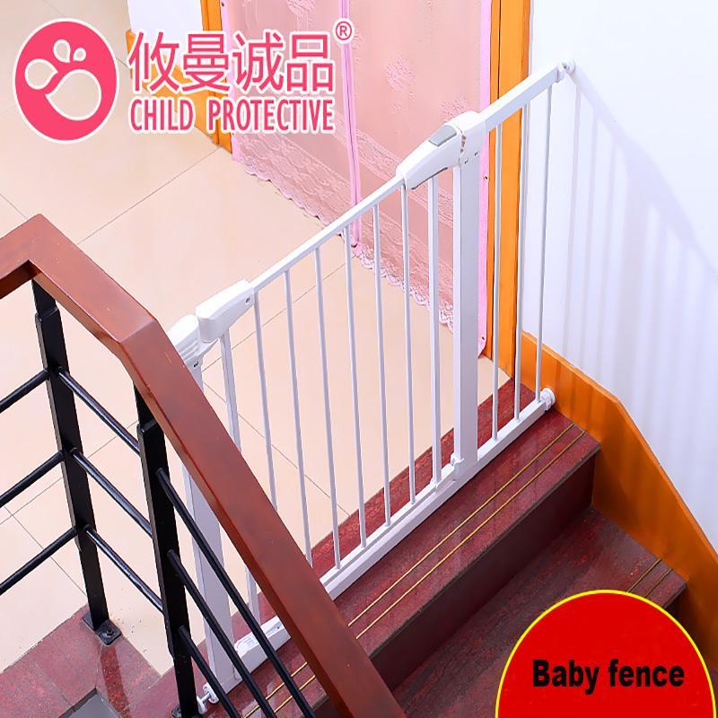 2019 Child Gate Baby Fence Pet Dog Grid Railing Fence Isolating
