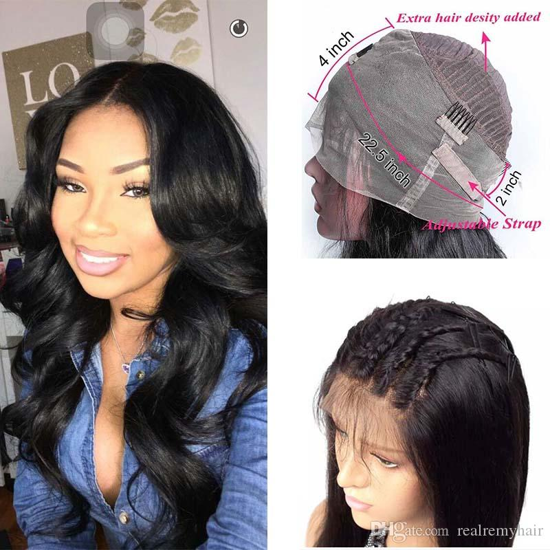 Brazilian 360 Lace Frontal Body Wave Wig Pre Plucked With Baby Hair Cheap  Brazilian Human Hair Lace Front Wigs For Black Women Best Lace Wigs Uk  Virgin ... 3c1497aa21