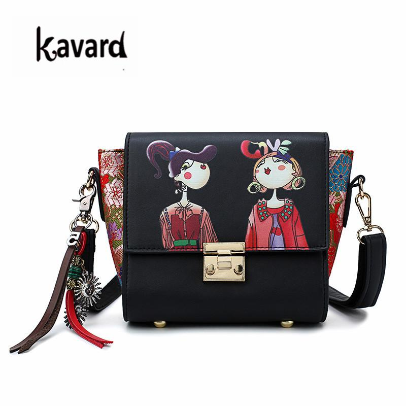 6a2666210bd avard Fashion Handbags Women Famous Brands Women Messenger Bags Appliques  Chinese Style Small Shoulder Bag Sac Female Tote Kavard Fashio...